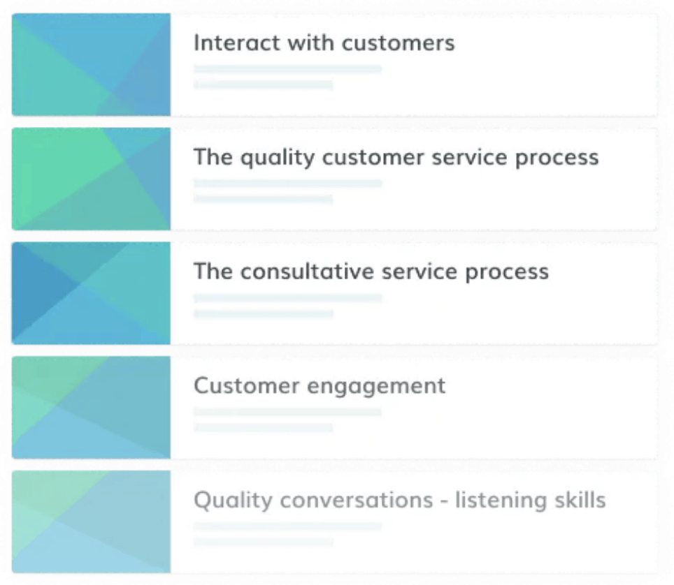 Online customer service courses